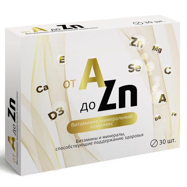 Комплекс витаминов и минералов от A до Zn