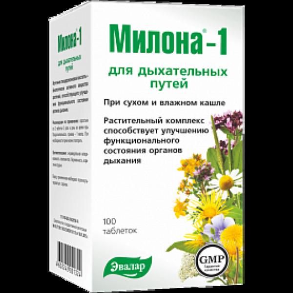 Milona® 1 Uztura bagātinātājs elpošanas ceļiem
