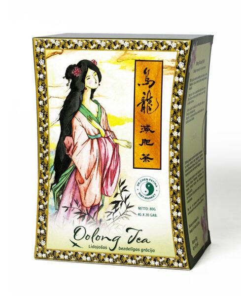 Ulung (OoLong) tēja - Lidojošās bezdelīgas grācija. 80g (4g x 20)