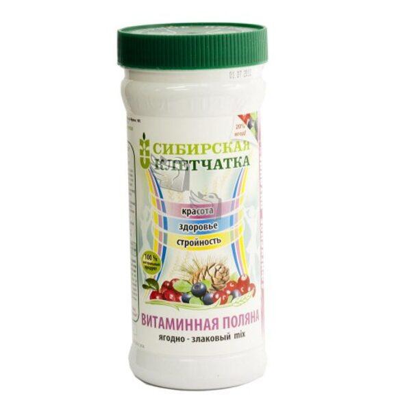 Vitaminnaja Poljana (vitamīnu pļava) Sibīrijas škiedrviela 280g