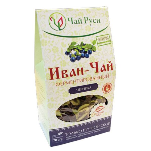 Ivan - tēja fermentēta ar mellenēm