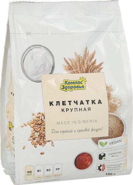 Клетчатка пшеничная крупная 150 г