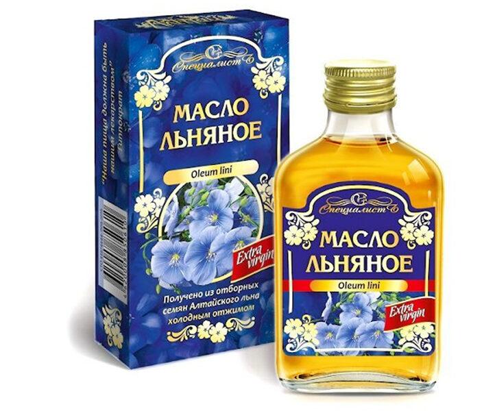 Льняное масло (100мл)